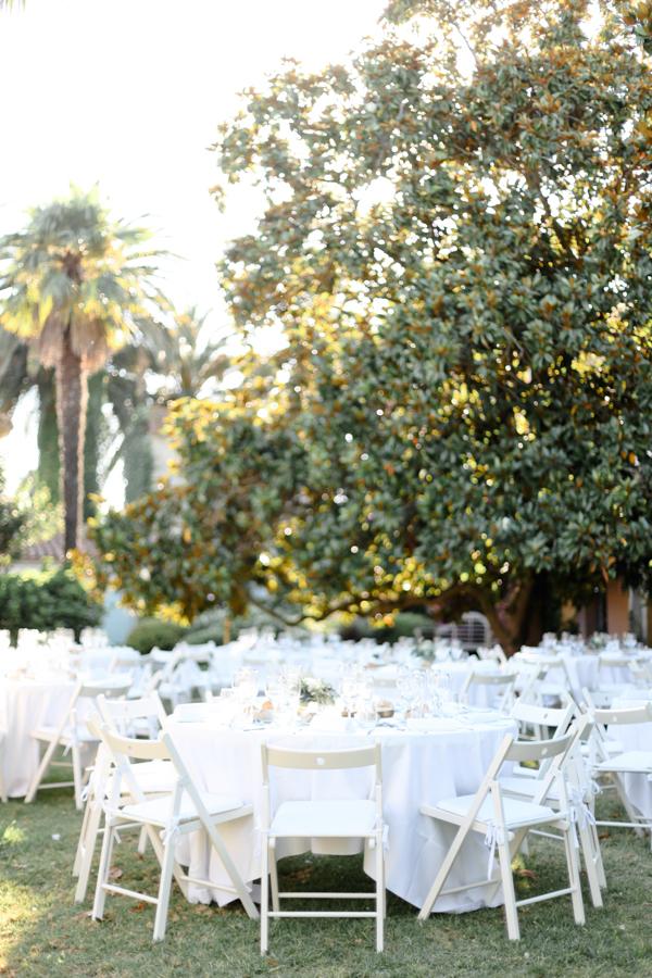 table mariage domaine de vignale