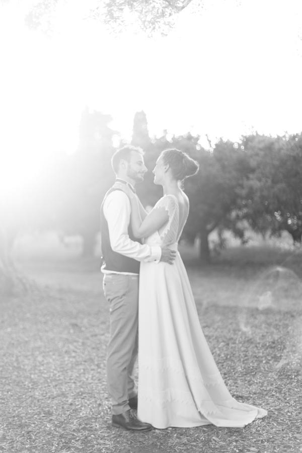 couple noir et blanc jardin de vignale