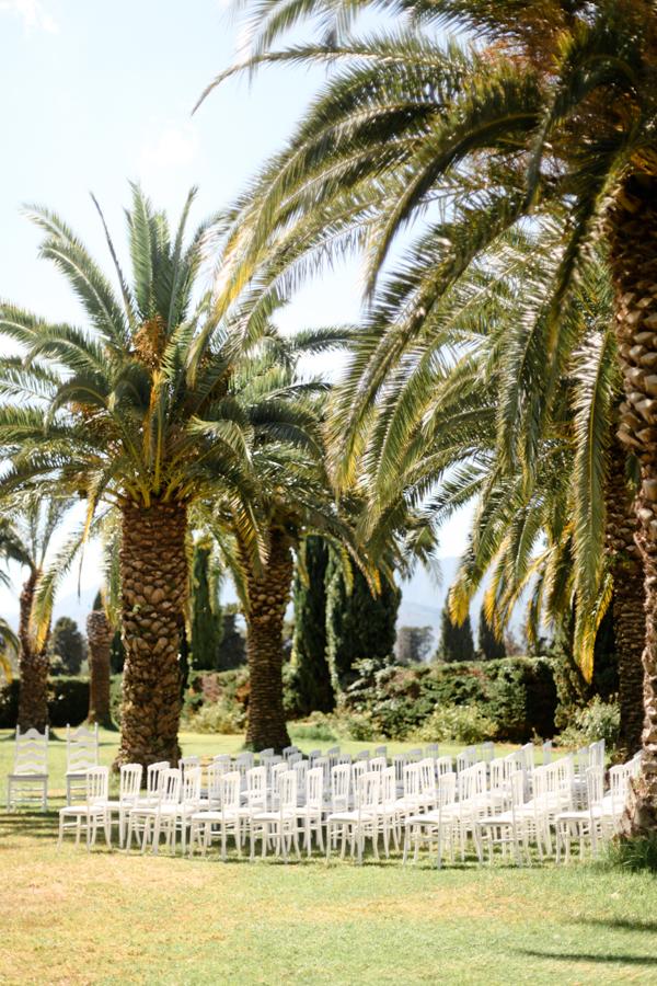 cérémonie jardin domaine de vignale mariage