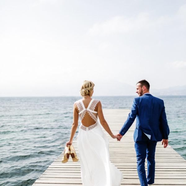 Un mariage sur la commune de Porticcio en Corse du Sud
