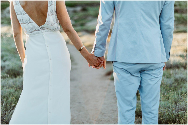 mariage au rocher Lumio
