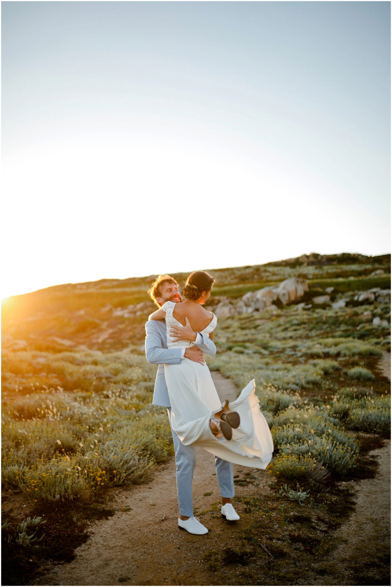 mariage corse au rocher