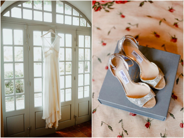 robe chaussure mariage