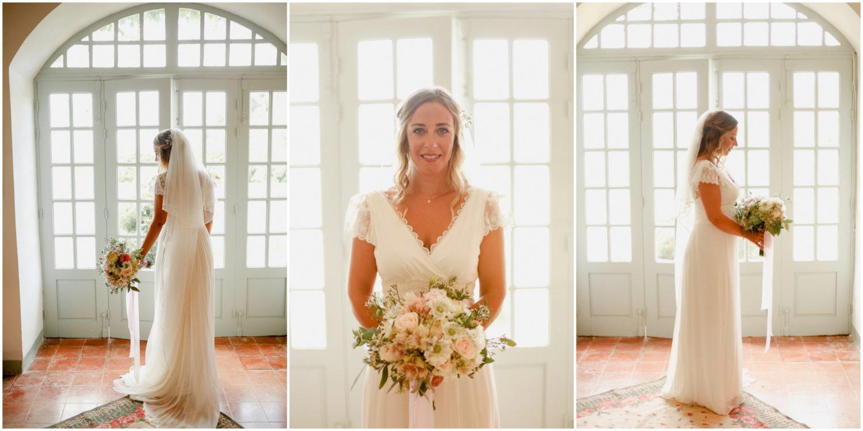 portrait preparation mariage au domaine de vignale