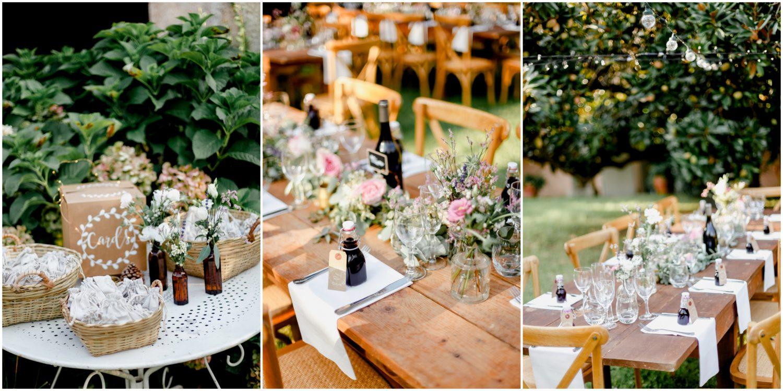 décoration mariage en corse