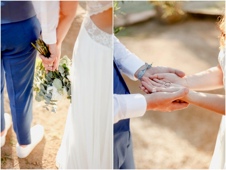 fleurs bague mariage