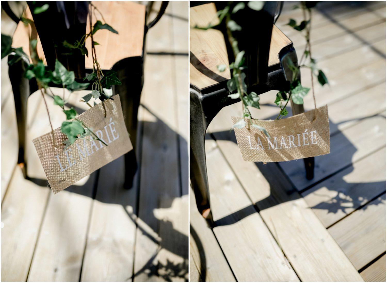 décoration marié