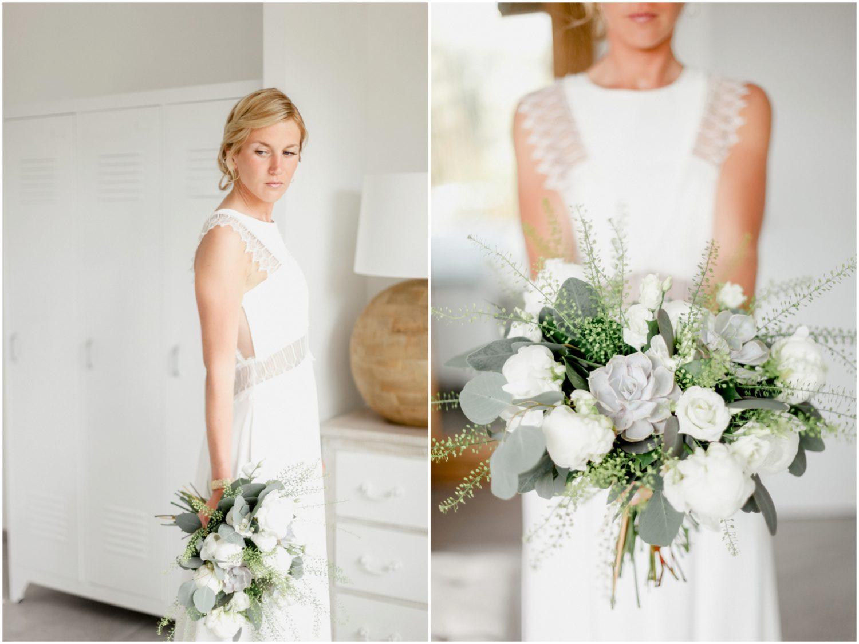 bouquet de fleurs de la marié