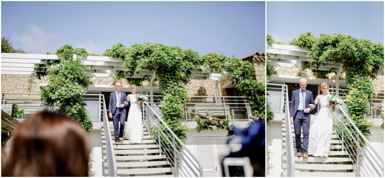 arrivée marié