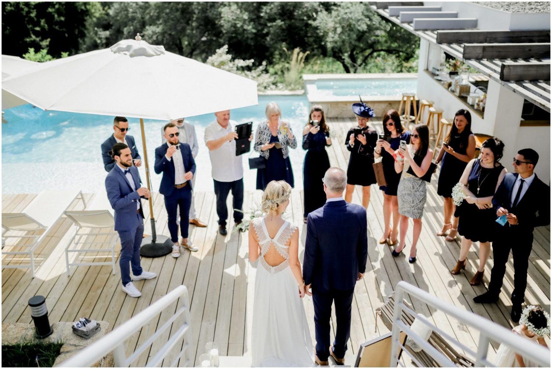 porticcio arrivé marié