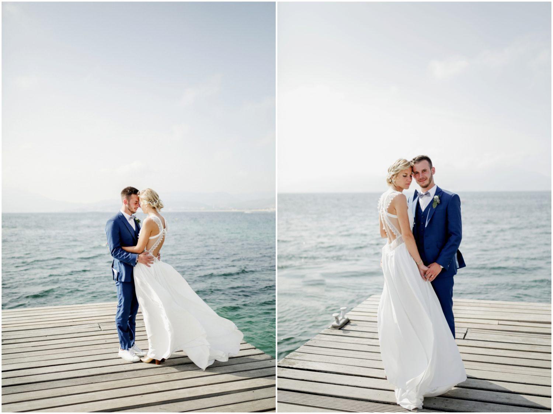 ponton mariage porticcio